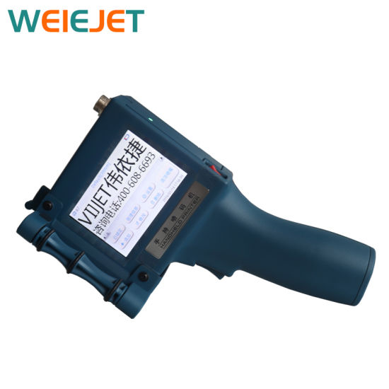 V5 Handheld HP Inkjet Printing/Marking Printer for Date Qualified Bar Code Machine/Carton/PVC/Paper Ink Cartridge