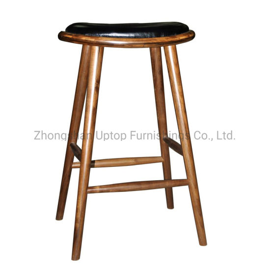 Pleasant China Wholesale Restaurant Cafe Used Round Solid Wood Stool Ibusinesslaw Wood Chair Design Ideas Ibusinesslaworg