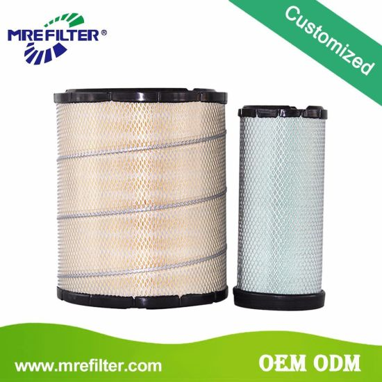 HEPA Parts Auto Truck Air Filter for Caterpillar Engine 6I-2501 6I-2502