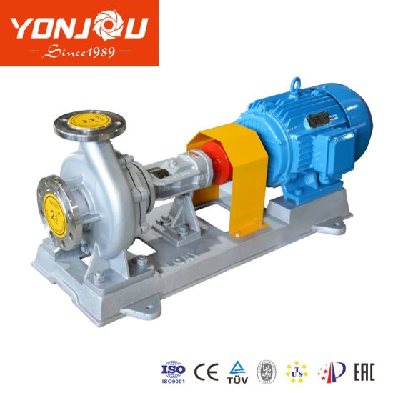 High Temperature 370 Degree Hot Oil Transfer Circulation Centrifugal Thermal Oil Pump