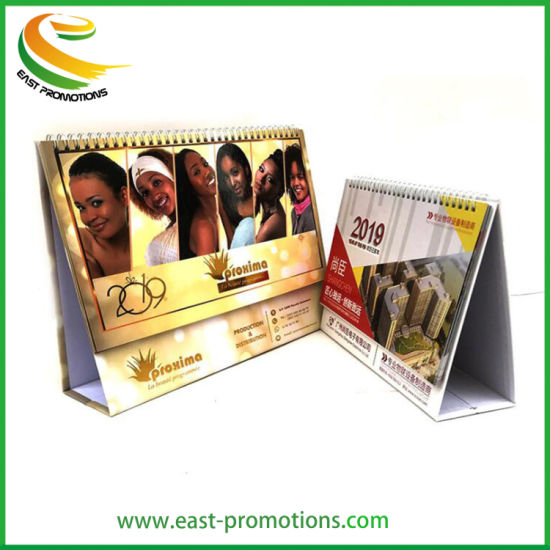 Custom Cheap Cardboard Table Calendar for 2020 for Office Supply pictures & photos