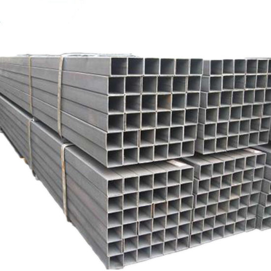 ERW Cold Rolled 75X75 Ms Steel Square Pipe