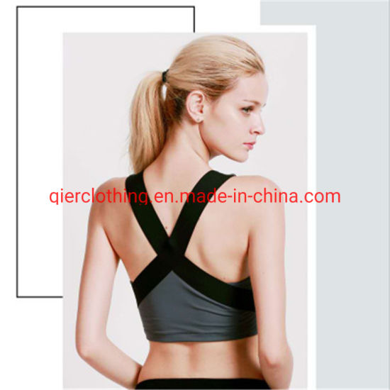 Breathable Women Sexy Ladies Sport Bra Fitness/Yoga/Workout Bra Girls Running Top Bodybuilding Stretch Gym Fitness Wear Yoga Bra with Beautiful Design pictures & photos