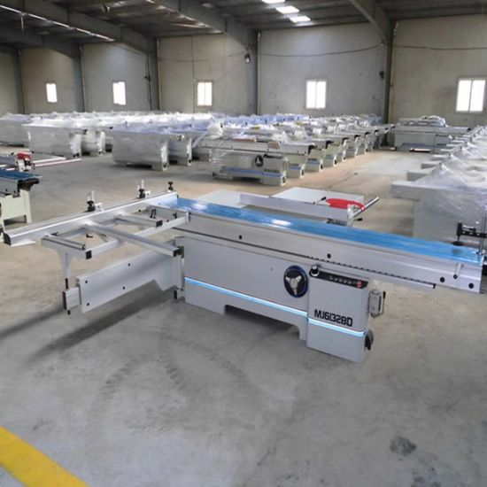 Markov Structure Push Table Saw Precision Cutting Plate Saw Qingdao Woodworking Machine Cutting Saw Machine Woodworking Processing Center