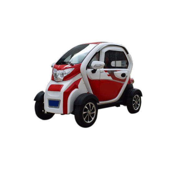 Lithium Battery 60V Ce Full Closed 3 Seat Adult Mini Electric Car