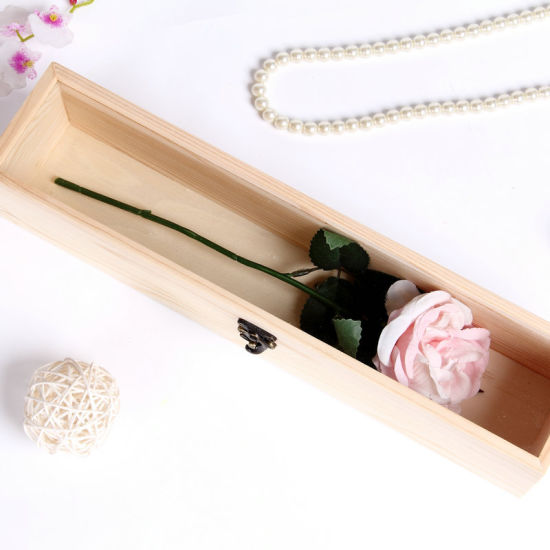 MDF Customized Eco-Friendly Luxury Unfinished Packing Small Storage Box