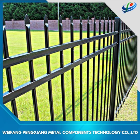 Manufacture Special Design Steel/Aluminium/Security/Wrought Iron/Galvanised/Temporary/Fencing/ Fence Panel for Villa/Garden/Playground/Farm