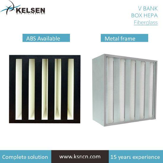 V-Bank HEPA Air Filter for HVAC System