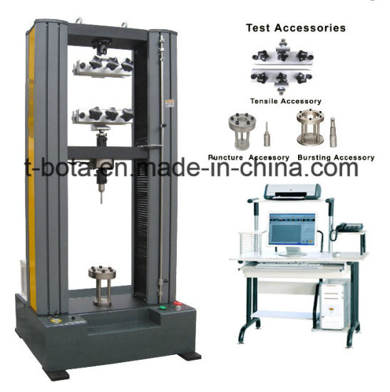 ASTM Electronic Testing Machine for Geotextile with PC control pictures & photos