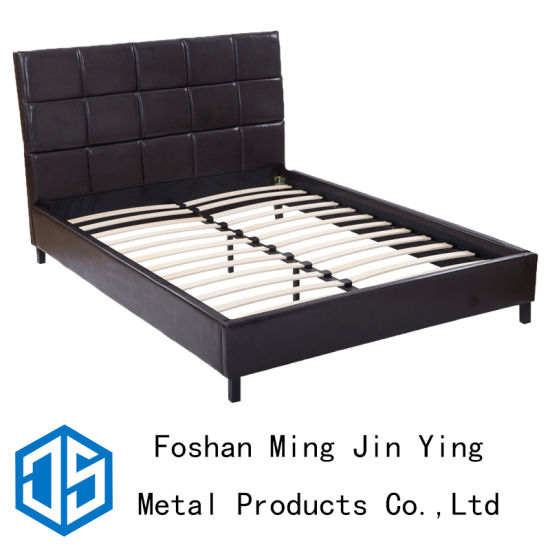 buy popular 849fc 1820a China OEM Queen Size Sturdy Detachable Wooden Slat Bed Stand ...