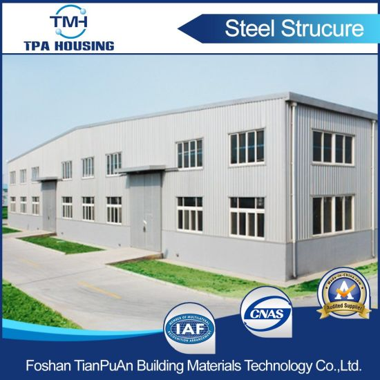 China Prefabricated Steel Structure Frame Workshop Building - China ...