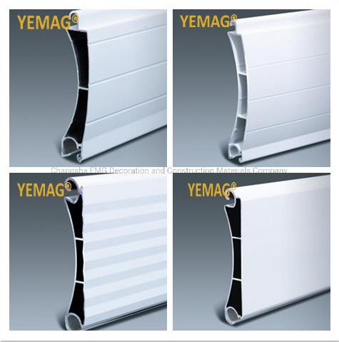 Residential / Industrial Motorized & Manual Operated Aluminum Roller Shutter Door