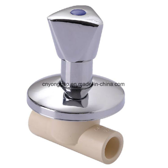 Era CPVC ASTM D2846 Fitting Hot Water Supply Stainless Steel Stop Valve