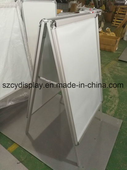 Double Sided a Board Display /a Frame/ Advertising Display a Board