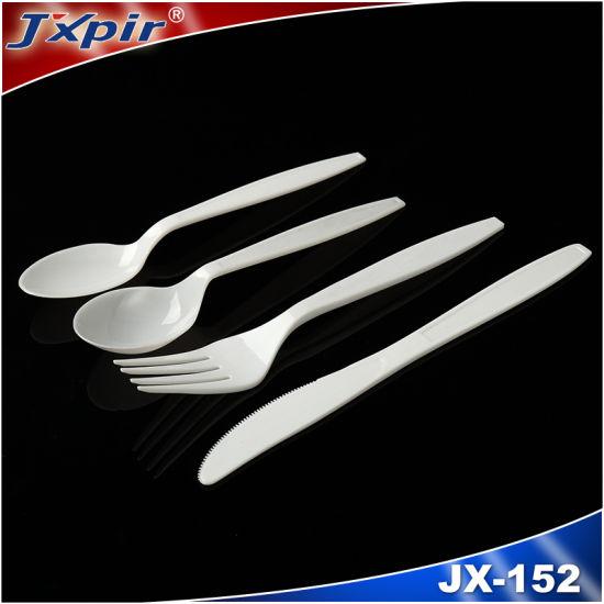 Disposable Plastic Tableware Suit (JX152)
