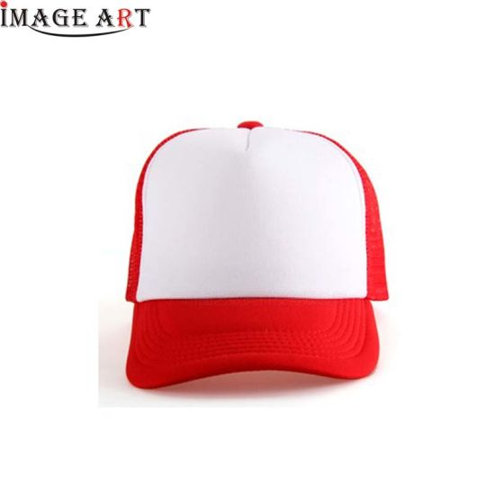 Fashion Wholesale Sublimation Blank Baseball Hat Cap (Red color)