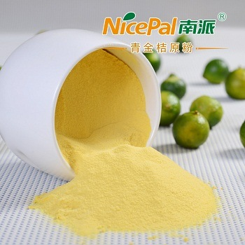 Natural Spray Dried Fruit Juice Concentrate Powder Lime Powder