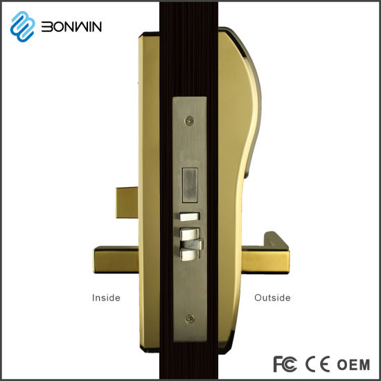 Bonwin Electric Mortise Lock with Low Voltage Alarm