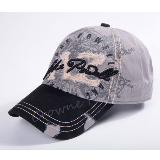 Wholesale Embroidered Adjustable Velcro Strap New Fashion Cap/Hat