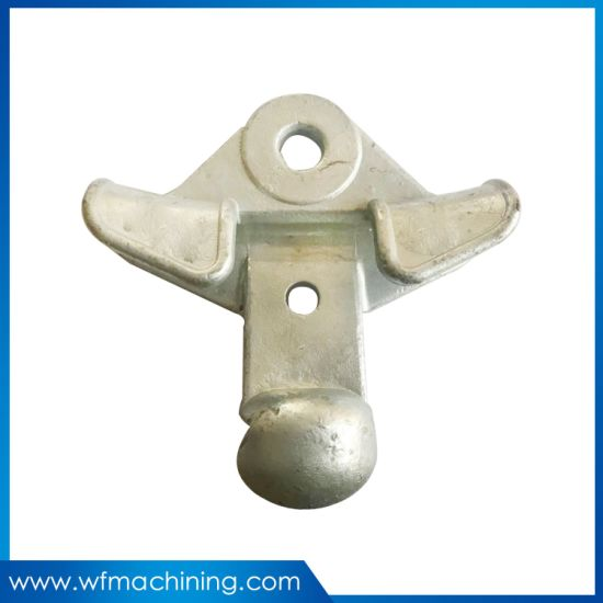 Custom Precision Carbon Steel Casting Parts for Electrical Power Line Accessory