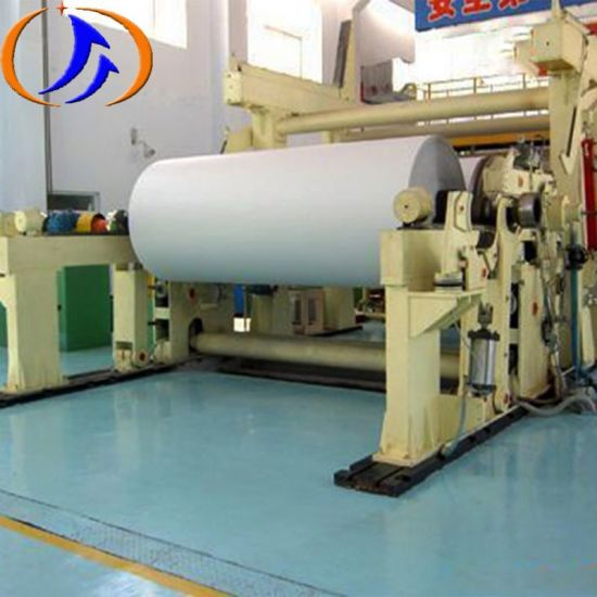 Customized Printing Paper Machinery School Office A4 Paper Making Machine