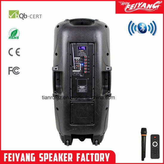 DJ Stage Portable PA System/ Bluetooth Speaker with Light F-73D pictures & photos