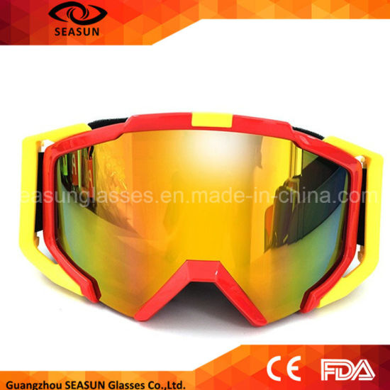 Wholesale UV400 Snow Motorcycle Anti Fog Sport Ski Safety Goggle Skiing Goggles