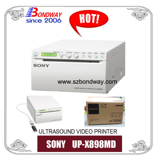 up-X898MD Sony Video Printer for Ultrasound Scan Machine, X-ray, Ultrasound Printer, 100 Original, A6, Thermal Paper, Ultrasonic Scanner
