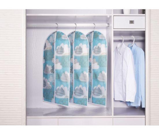 Custom Printed Coat Garment Bag Suit Hanger Cover
