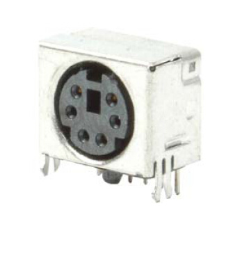 Mini-DIN Connector 6 Pin