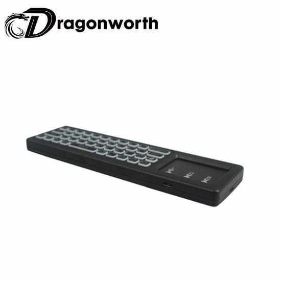 Gamer Keyboard T6 Backlit White Wireless Keyboard with USB