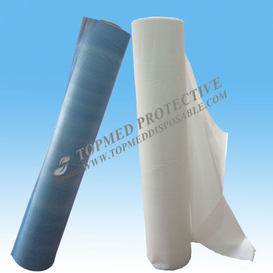 Hospital Use Disposable PP Nonwoven Bed Sheets Roll pictures & photos