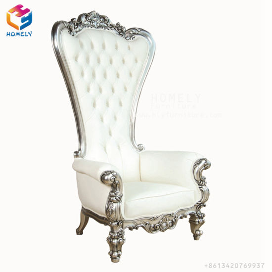 Admirable High Back Royal Queen Hotel Wedding Sofa King Throne Chair Bralicious Painted Fabric Chair Ideas Braliciousco
