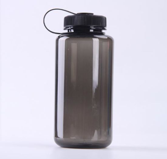 Portable BPA Free Wide Mouth Leak Proof Plastic Large Capacity Gym Sports Water Bottle for Custom Logo