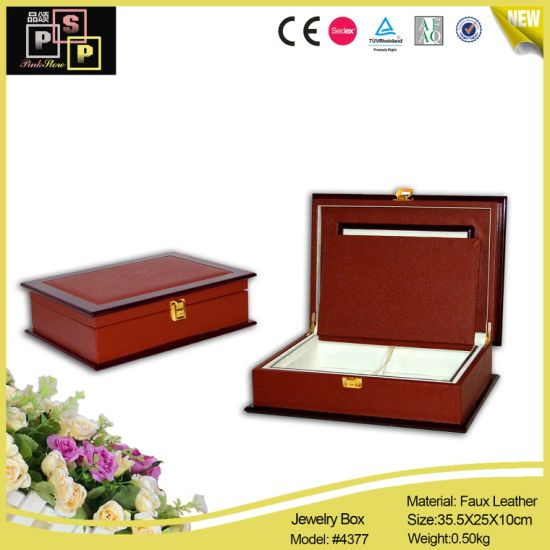 Luxury Wooden Box Jewelry Packaging Storage Box (4377) pictures & photos