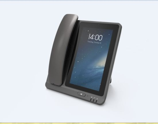 China 7 Inch 4G Lte Desktop Phone Fwp Android Desktop Fixed