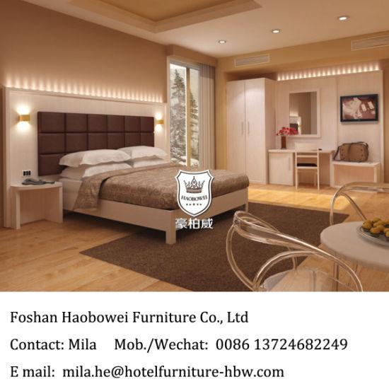 Hotel Bedroom Furniture Set For 3 Star Hostel King In Modern Design