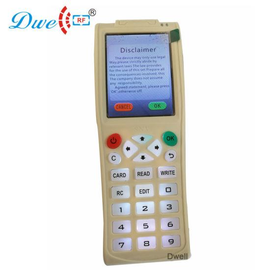 China Handheld RFID Writer Card Copier Duplicator Cloner with Em4100