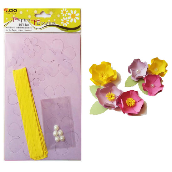 Paper Flower DIY Handmade Material Kit of Camellia pictures & photos