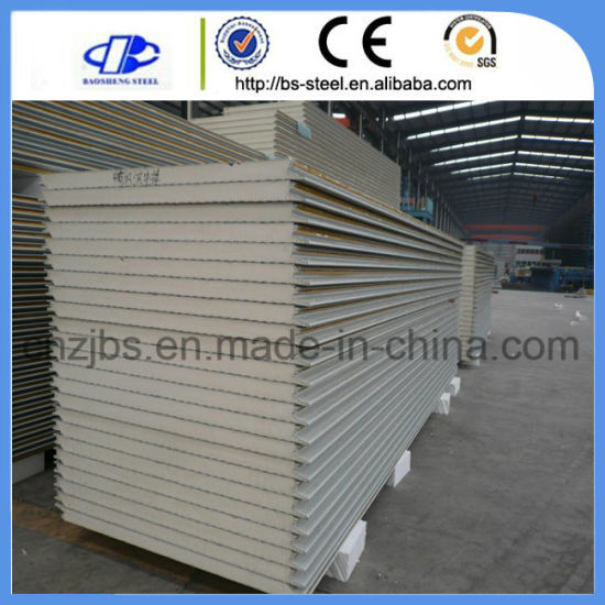 China Waterproof Laminate Flooring Insulated Pu Foam Sandwich Panel