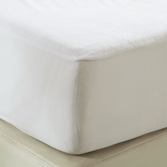 China Soft Terry Cotton Topper Mattress Pad Cover King Size China