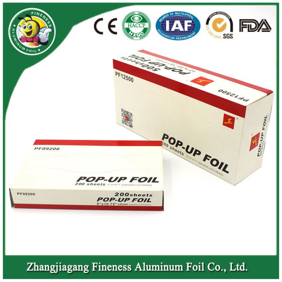 Houhold Aluminum Foil Sheet for Food Packaging pictures & photos