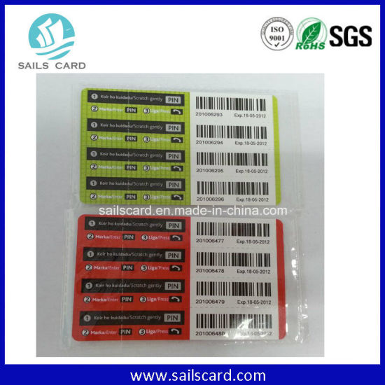 Hot Sell Prepaid Scratch Cards, Phone Cards pictures & photos