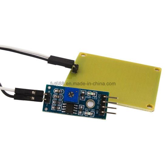 Foliar rain sensor module sensitive sensor module