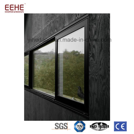 Aluminum Office Sliding Glass Louver Windows