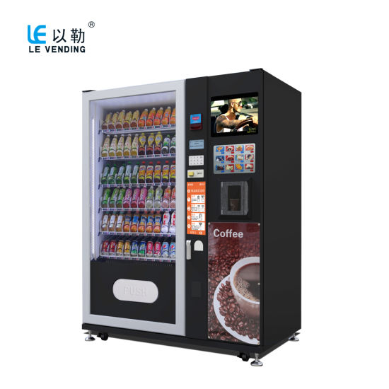 Snack/Drink Vending Machine with Coffee Vending (LV-X01)