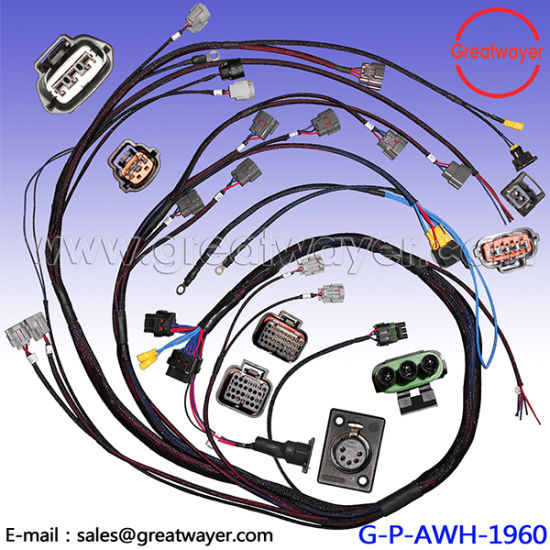 Ev Nissan Pet Mesh Ecu 26 Pin Connector Engine Wiring Harness: Nissan Engine Wiring Harness At Goccuoi.net