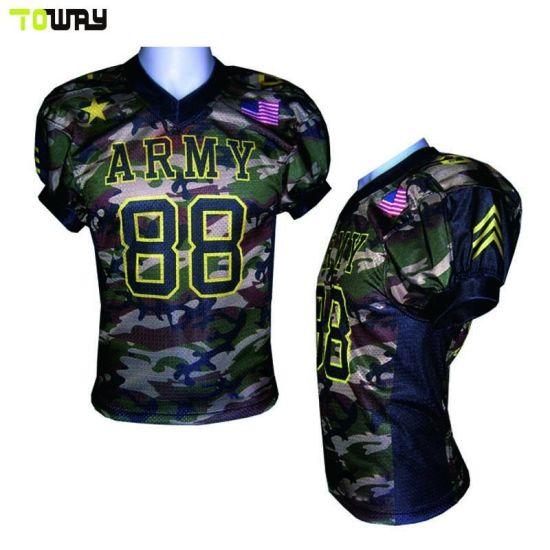 China Wholesale Customized Fashion Camo Custom Football Jersey ... f8be8288e