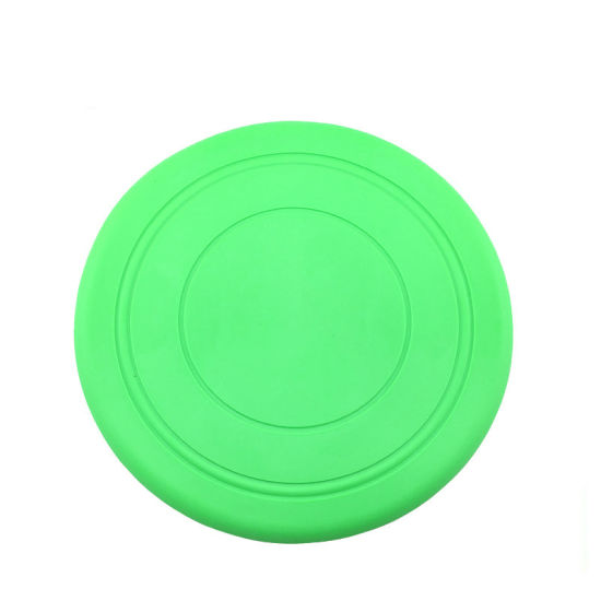 Hot Selling Best Silicone Dog Interactive Play Gem Pet Toy Flying Disc