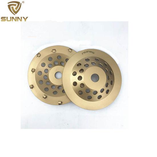 PCD Segment Diamond Grinding Wheel for Concrete